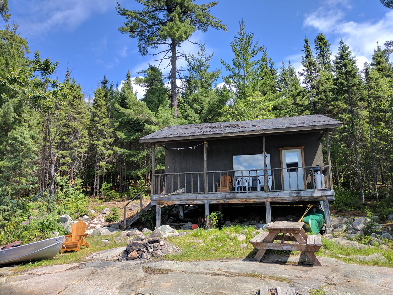 Chris Willis Lake outpost cabin